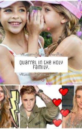 Quarrel in the holy family | Justin Bieber + Selena Gomez = Jelena by kseniaflannery