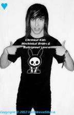 Chemical Kids, Mechanical Brides, and Bulletproof Love // vic fuentes by bajabrandy