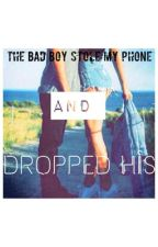 The Bad Boy Stole My Phone And Dropped His by incogniciant