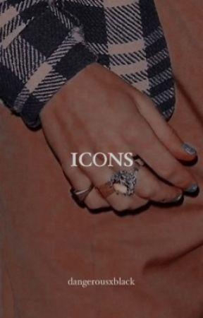 ICONS book | artistas aleatorios by CalumTomateHood