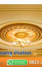 WA 0821-2215-2295, Jasa Pasang bagus plafon pvc atau gypsum by Jualbataringanhebel