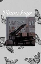 piano keys || fundy by -jaspercat-