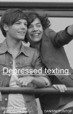 depressed texting » larry (polish translation) by bandschild
