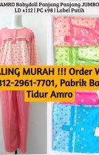 TEMPATNYA !!! Order WA 0812-2961-7701, Distributor Baju Tidur Amro by ghoniyadaster