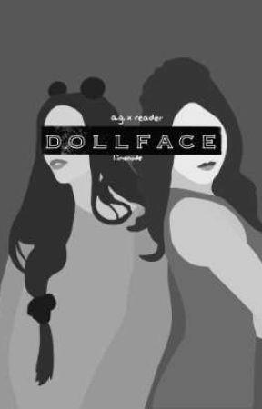 """""""dearest dollface"""" • ag x reader • gxg by LimenadeTree"""