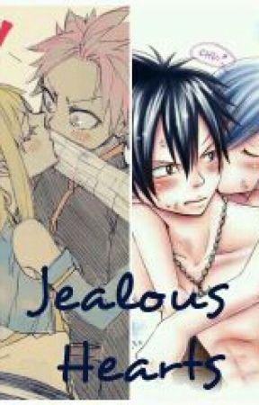 Jealous Hearts (NaLu/Gruvia) by PandaObess13