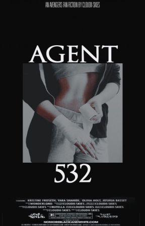Agent 532 [Avengers x OC] by Cloudii-skies