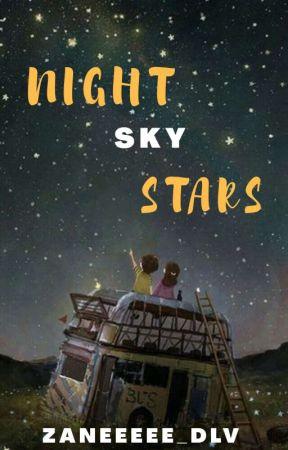 Night Sky Stars  by zaneeeee_dlv