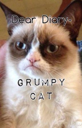 Dear Diary-Grumpy Cat by Steff_Mysteries23