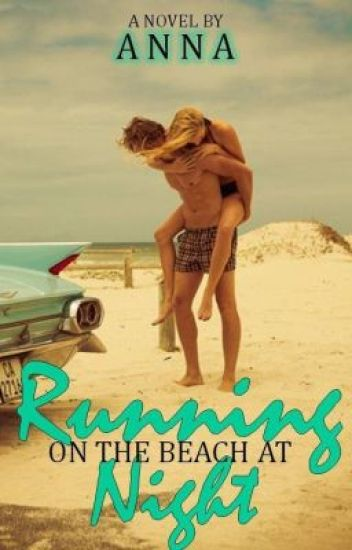Running on the Beach at Night