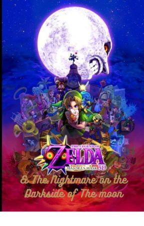 """The Legend of Zelda: """"The Nightmare on the Dark Side of the Moon."""" by Shadow_Collective99"""