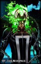 Izuku x Ghost rider by SeanDanielBarro