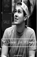 «A love in flame»   Carlos Pena y tu   by dxmonns