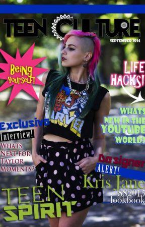 Teen Spirit September Issue 2014! by TeenCult