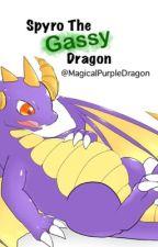 Spyro The Gassy Dragon  by MagicalPurpleDragon