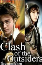 Clash Of The Outsiders (Harry Potter and Percy Jackson Fan Fiction) [ON HOLD] by Ilovetomfelton
