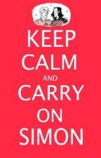 Carry On Simon (A Simon Snow/Fangirl Story) by Katkish
