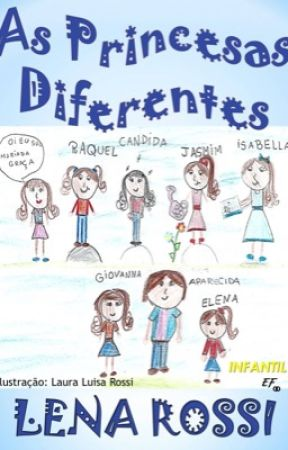 As princesas Diferentes by Lenarossi