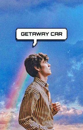 Getaway Car 》Louis Partridge by howtheuniverseworks_