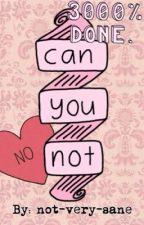 Can You Not: A Memoir by lady-meg