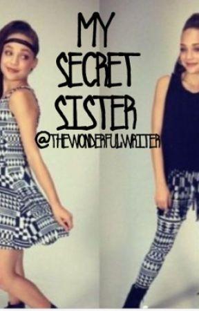 My Secret Sister by thewonderfulwriter