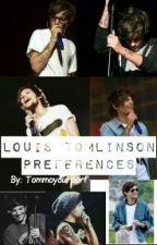 Louis Tomlinson Preferences by Tommoyourperf