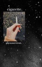 cigarette ✧ afi. by aliensurvivor