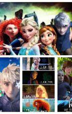 The big four meet Elsa. by Valerie121398