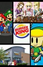 Nintendo Characters Working Normal Jobs by NintendoMeme2