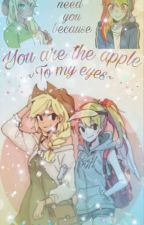 You are the apple to my eyes by featherwing_dash