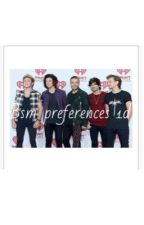 One direction bsm preferences by _littlemixer_13