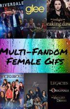 Multi-Fandom Female Gifs by King_of_Editor1