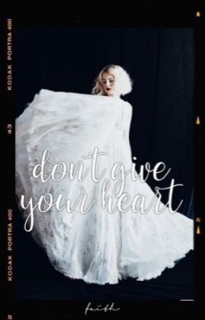 Don't Give Your Heart  Black by -faith-and-soul