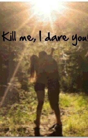 Come on Cato kill me, I dare you! by TaylaBarnes1