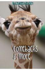 Comebacks & More by bostonterrier007