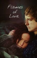 Flames of Love~Katniss and Peeta by HeidiVelez1