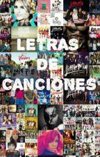 Letras de Canciones by LaliCardozo
