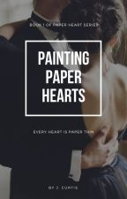 Painting Paper Hearts by _JSMNC