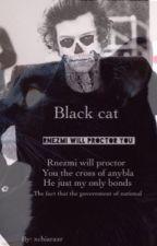 black cat by xchiaraxr_