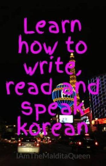 korean writing rules