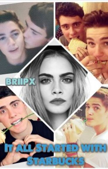 It all started with Starbucks {Alfie Deyes (PointlessBlog) and Jack Harries (JacksGap) Fanfic} by briipx