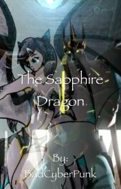 The Sapphire Dragon (Transformers Prime) by BadCyberPunk