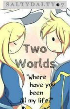 Two worlds (Adventure time fanfic) [DISCONTINUED] by saltydalty07