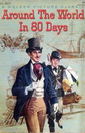 Around The World in Eighty Days By (Jules Verne.) by JudgementEyes