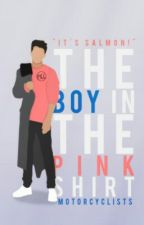 The Boy in the Pink Shirt by motorcyclists