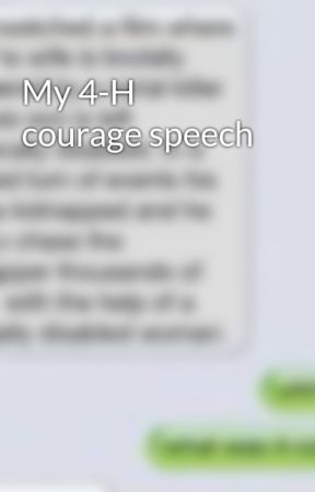 speech on courage