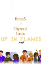 Heroes of Olympus Fanfiction - Up in Flames by gcopppjo