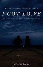 I got love; mkt [wird überarbeitet] by jxnmark