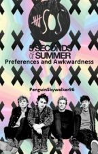 5SOS Preferences and awkwardness by PenguinSkywalker96