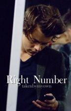 Right Number by takenbymyown